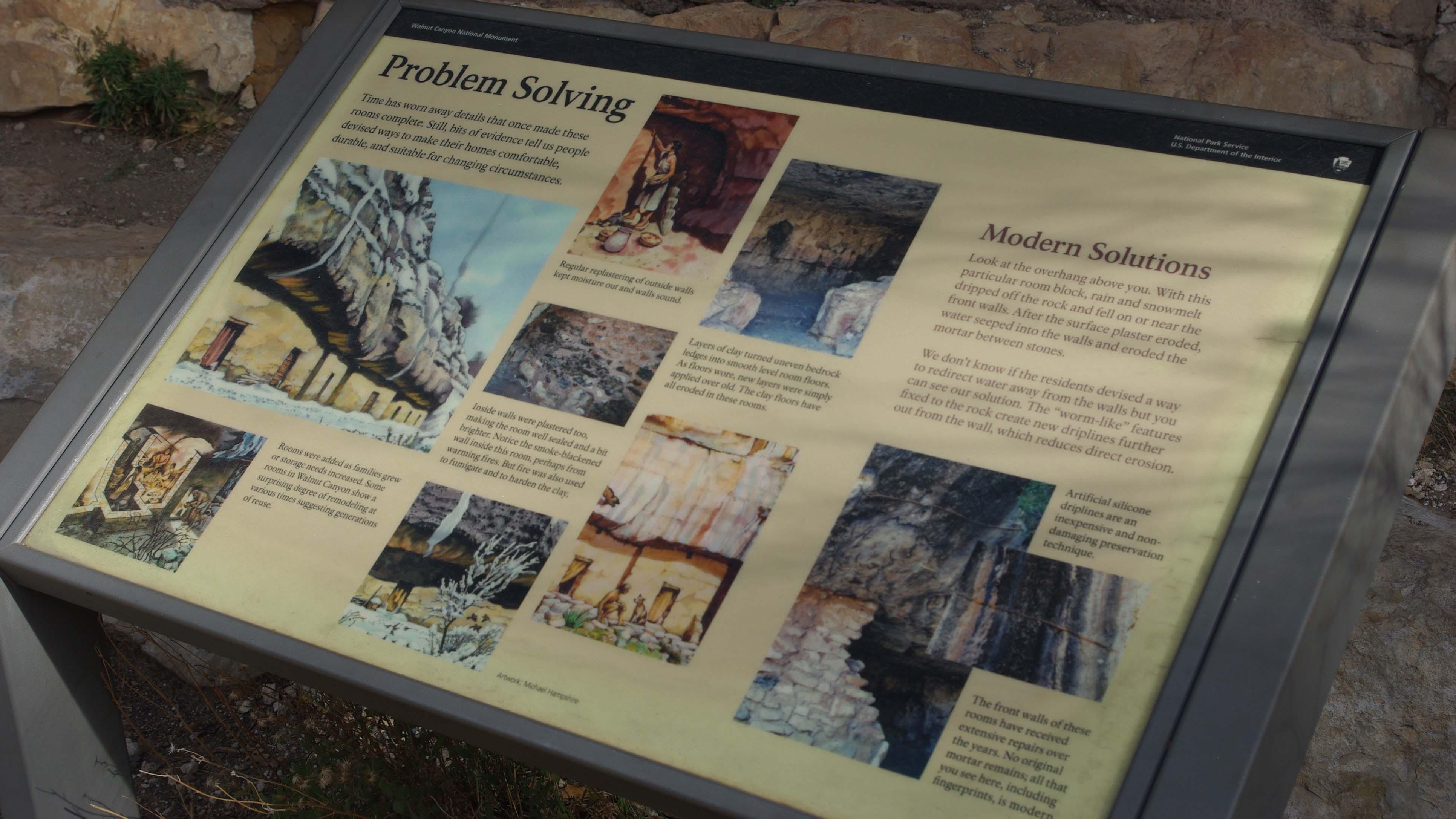 ウォルナット・キャニオン国立モニュメント(Walnut Canyon National Monument)