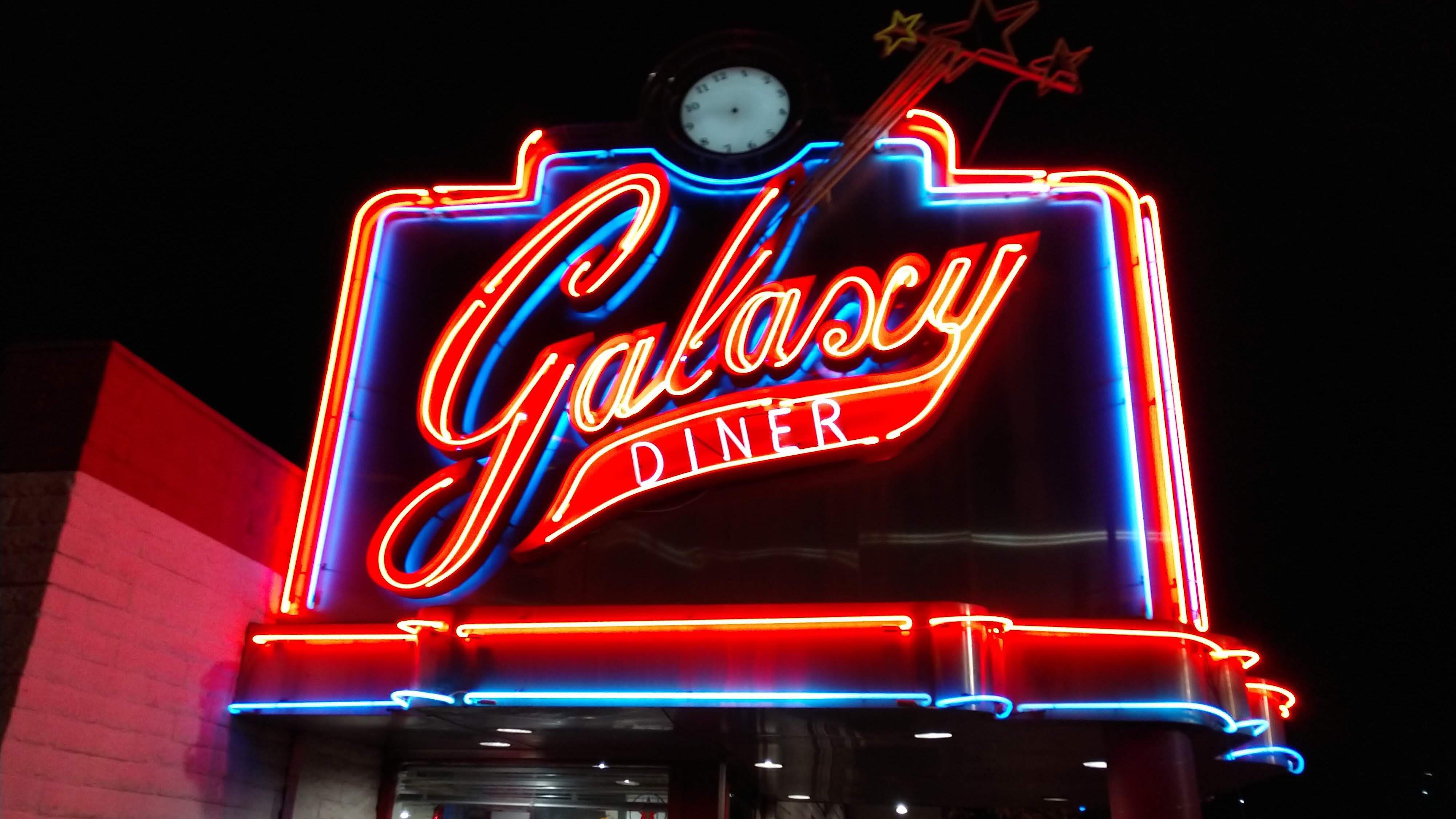 フラッグスタッフ レストラン ギャラクシーダイナー Flagstaff Galaxy Dinner